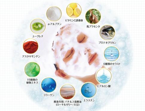43種類の美容成分